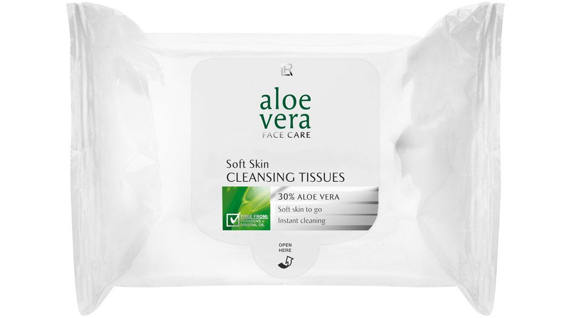 Lingettes douces à l'Aloe Vera dans Soin du visage