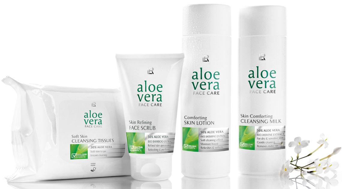 Aloe Vera Set nettoyant pour le visage dans Soin du visage