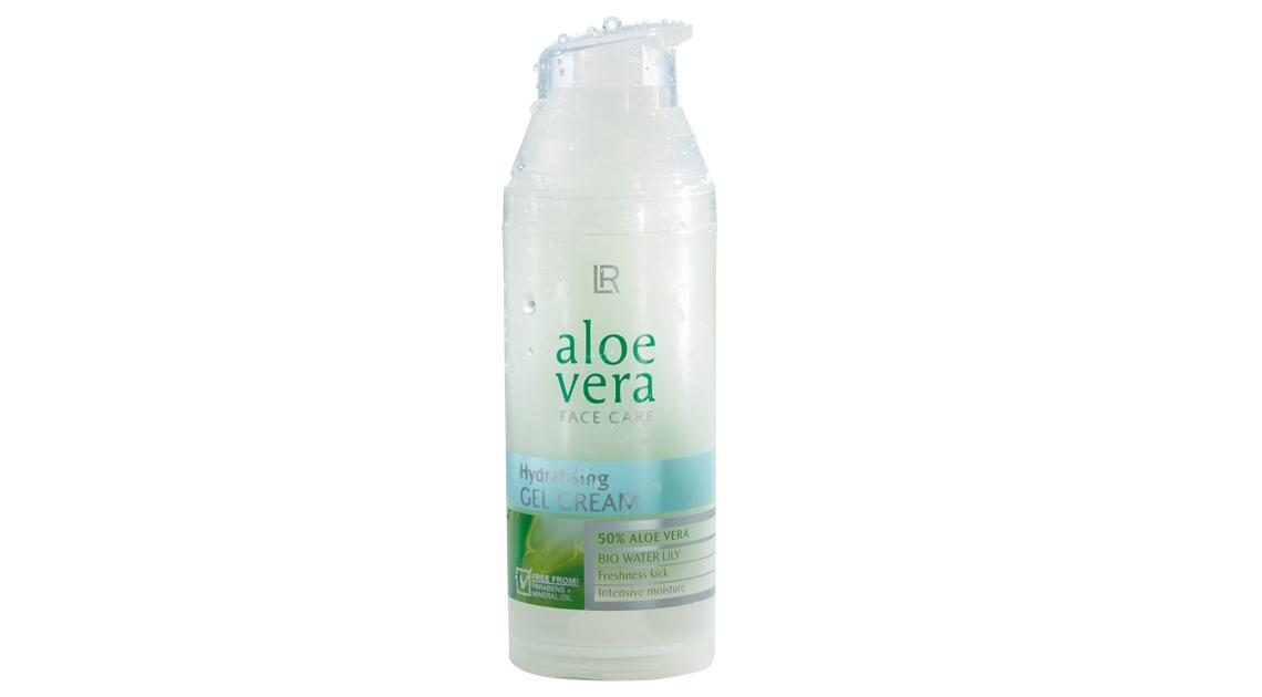 Gel crème hydratant aloe vera dans Soin du visage